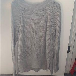 Lauren Conrad Gray Sweater.